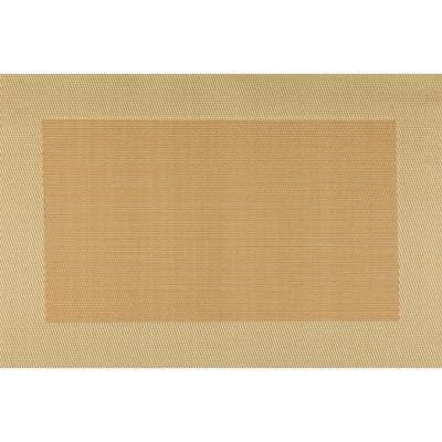 EveryTable Thick Border Shades of Gold Placemat (Set of 12)