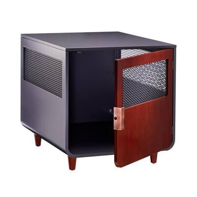 Radius Wooden Dog Crate - Mocha Walnut - Medium