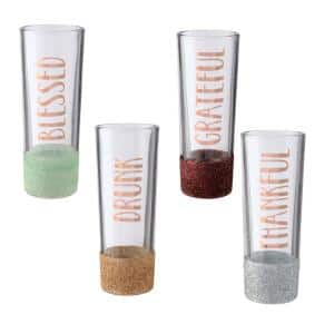 4.25 in. Fall Shot Glass Set (2-Pack)