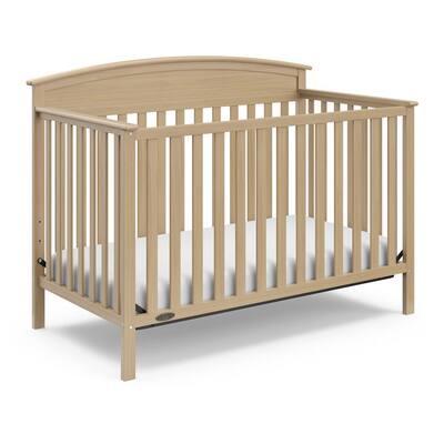 Benton Driftwood 4-in-1 Convertible Crib