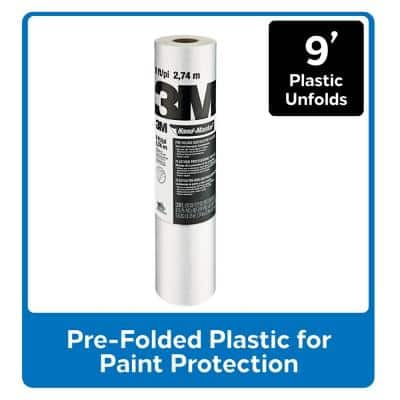 Hand-Masker 9 ft. x 90 ft. Contractor's Plastic (12-Pack)