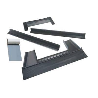 C12 Metal Roof Flashing Kit with Adhesive Underlayment for Deck Mount Skylight