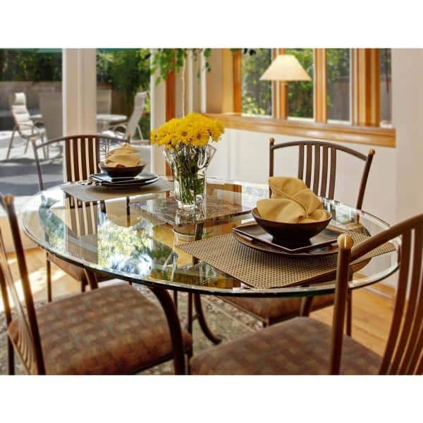 Clear Round Glass Table Top, 60 Round Glass Dining Room Table