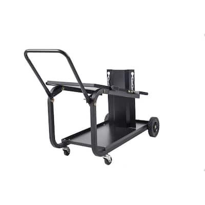 Steel Universal Welding Cart With Handle XL