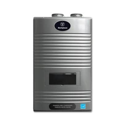 8.1 GPM Ultra Low NOx Natural Gas Condensing High Efficiency Tankless Water Heater