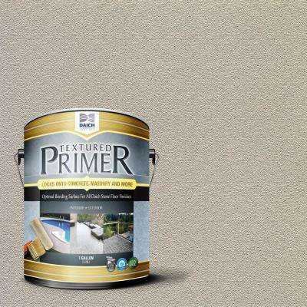 Textured 1 gal. Bonding Primer Bone Interior Exterior Penetrating Anti-Slip