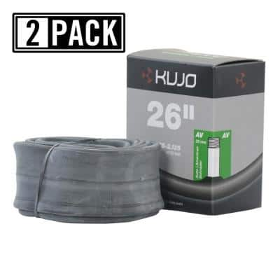 26 in. x 1.75 in./2.125 in. Schrader (American) 35 mm Bicycle Tube (2-Pack)
