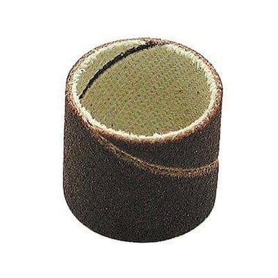 3/4 in. Diameter x 1/2 in. 120 Grit Sanding Bands (100-Pack)