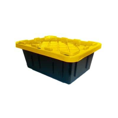 5 Gal. Heavy Duty Storage Bin (4-Pack)