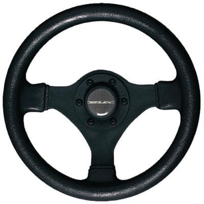 Soft Touch Steering Wheel, Black