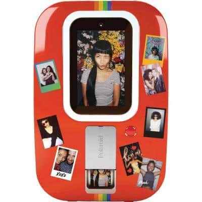 Polaroid Photobooth in Red