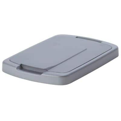 0.75 in. x 14.5 in. x 9.56 in. Trash Can Lid