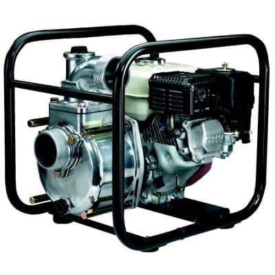 3 in. 4.8 HP Semi-Trash Pump with Honda Engine