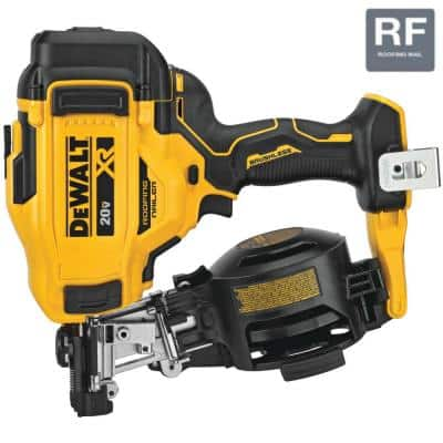 20-Volt MAX 15-Degree Cordless Roofing Nailer (Tool-Only)
