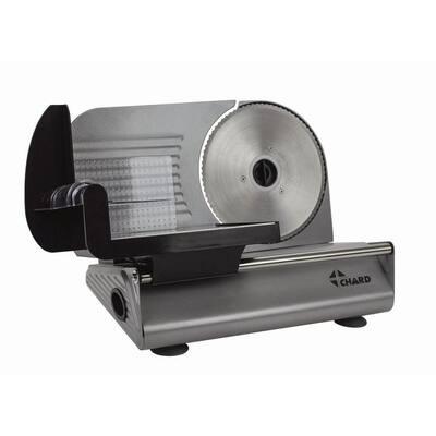 150 W Black Stainless Steel Electric Food Slicer