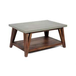 Alaterre Furniture Brookside 36 in Medium Rectangle Coffee Table Deals