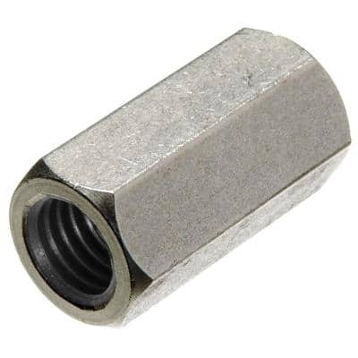 """5/16""""-18 Stainless Steel Coupling Nut (8-Pack)"""