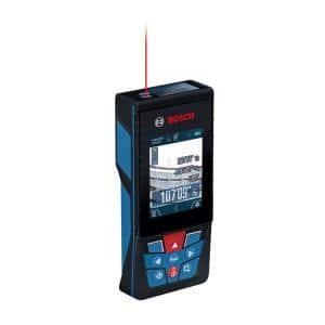 BLAZE 400 ft. Outdoor Laser Distance Tape Measuring Tool with Bluetooth and Camera Viewfinder