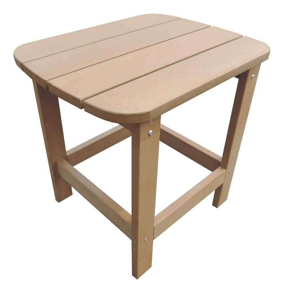 Island Retreat NU6797 Outdoor Side Table for Adirondack Chairs Teak