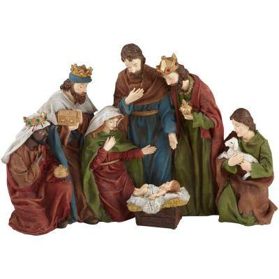 17 in. Nativity Scene