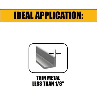 FLEXVOLT 6 in. 6 Teeth per in. Bi-Metal Reciprocating Saw Blade Set (5-Pack)