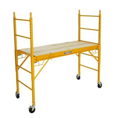 6 ft. Steel Rolling Scaffold 1000 lbs. Load Capacity