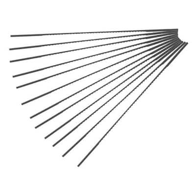 #12 Super Sharps Scroll Saw Blade (12 per Box)