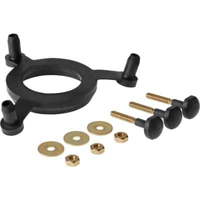 Triangle Tank Gasket with Bolts for Most 2-Piece Toilets