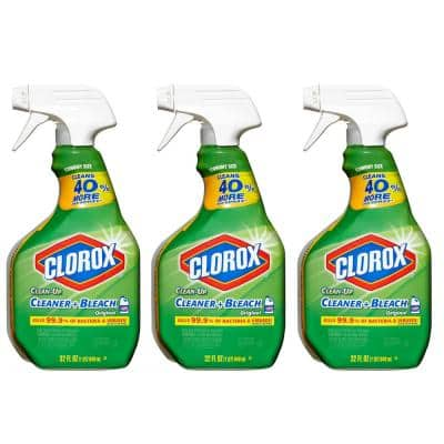 32 oz. All-Purpose Clean-Up Cleaner with Bleach Spray (3-Pack)