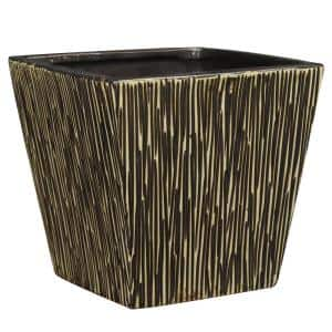 6 in. Brown Ceramic Tagula Planter