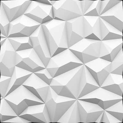 Diamond 2 ft. x 2 ft. Seamless Foam Glue-up Wall Panel (48 Sq. Ft./Pack)