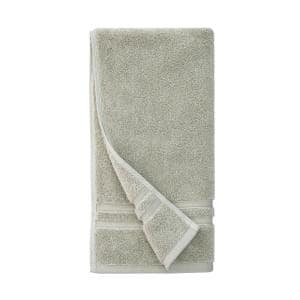 Turkish Cotton Ultra Soft Hand Towel in Moss