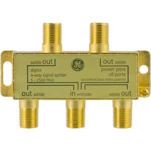 Pro Digital 4-Way Coaxial Splitter