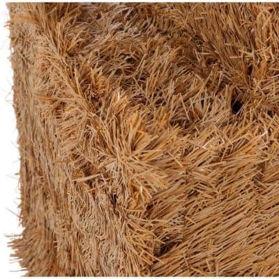 20 in. and 32 in. Fake Hay Bale Set