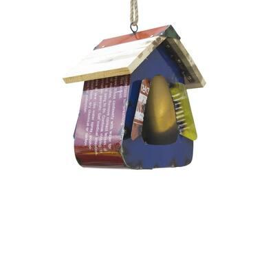 27 in. Cubby House Birdfeeder