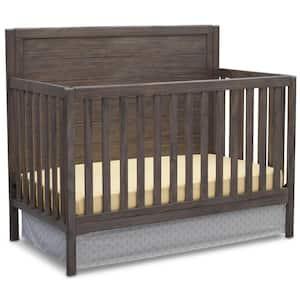 Cambridge Rustic Grey 4-in-1 Convertible Crib