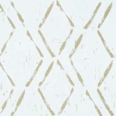 Retro 12 in. W x 12 in. L Diamond Tan Water Resistant Peel and Stick Vinyl Tile Flooring (20 sq. ft./case)
