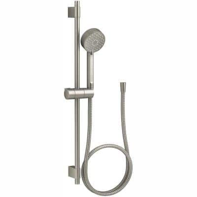 Awaken 3-Spray Function Hand Shower with Slide Bar Kit in Vibrant Brushed Nickel