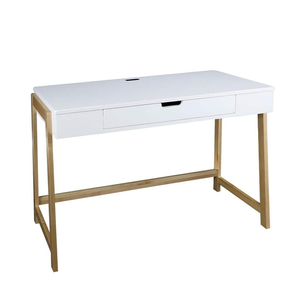 1 Drawer Writing Desk With, American Trails Art Deco Writing Desk