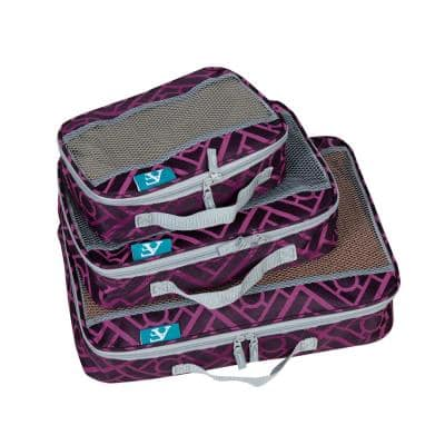 American Flyer Astor Collection Packing Cubes (3-Piece Set)