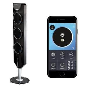 3x Tower Fan 44 in. with Bluetooth and Passive Noise Reduction Technology