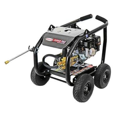 Super Pro Roll-Cage SW3625HADS 3600 PSI at 2.5 GPM HONDA GX200 Cold Water Gas Pressure Washer