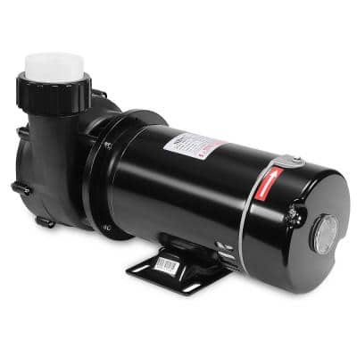 1.5 HP 115/230-Volt Dual Pump Swimming Pool Hot Tub Spa Circulation with Connection Fitting