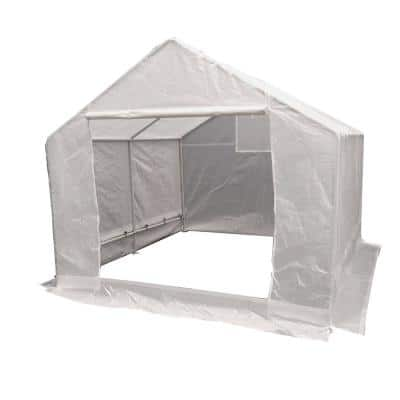 10 ft. x 10 ft. Clear Green House Cover