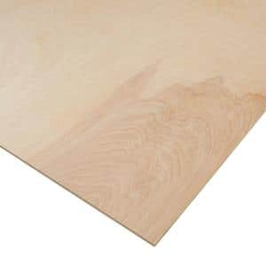 1/4 in. x 4 ft. x 8 ft. PureBond Birch Plywood