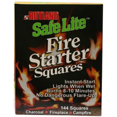 Safe Lite Fire Starter Squares (144-Pack)
