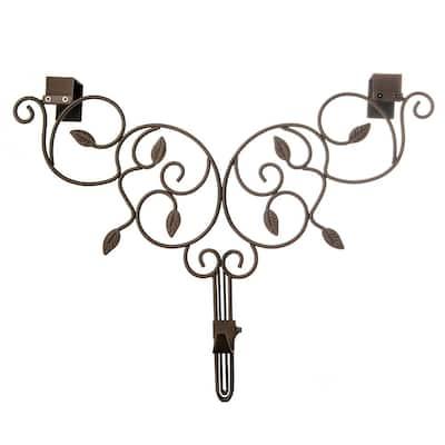 Ivy Adjustable Wreath Hanger