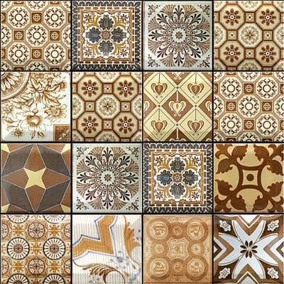 3D PVC Peel and Stick Mosaic Tile Sticker 12 in. x 12 in. / Piece (Set of 40-Piece)