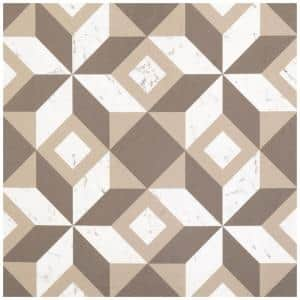 Retro Prism Marble 12 in. x 12 in. Self-Adhesive Vinyl Floor Tile (20 Tiles/20 sq. ft.)