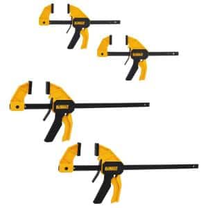 Medium and Large Trigger Clamp (4-Pack)